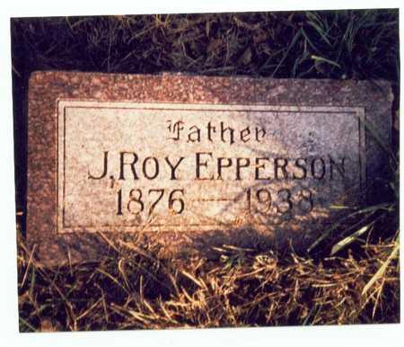 EPPERSON, J. ROY - Pottawattamie County, Iowa   J. ROY EPPERSON