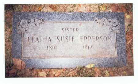 EPPERSON, LEATHA