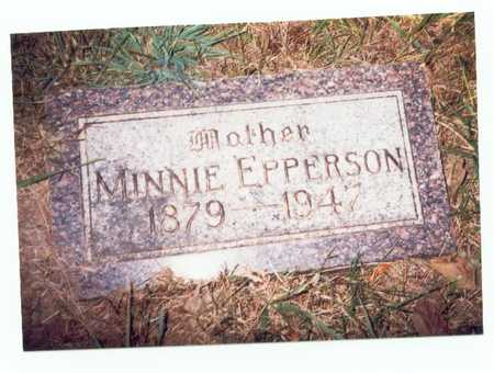 EPPERSON, MINNIE - Pottawattamie County, Iowa | MINNIE EPPERSON