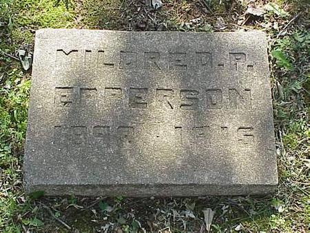 EPPERSON, MILDRED P. - Pottawattamie County, Iowa | MILDRED P. EPPERSON