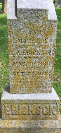 ERICKSON, MABLE B - Pottawattamie County, Iowa | MABLE B ERICKSON
