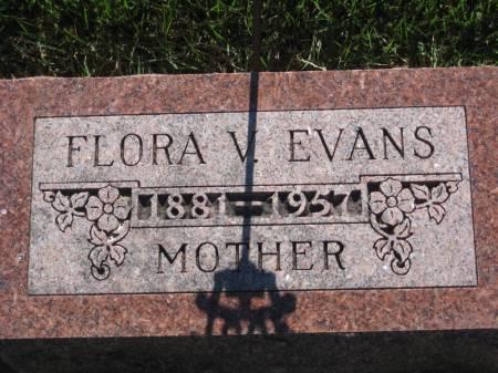 EVANS, FLORA V. - Pottawattamie County, Iowa | FLORA V. EVANS