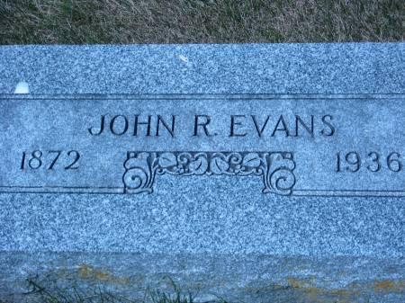 EVANS, JOHN R. - Pottawattamie County, Iowa | JOHN R. EVANS