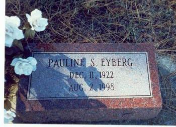 EYBERG, PAULINE - Pottawattamie County, Iowa   PAULINE EYBERG