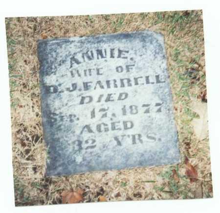 FARRELL, ANNIE - Pottawattamie County, Iowa | ANNIE FARRELL