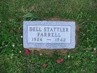 FARRELL, DELL STATTLER - Pottawattamie County, Iowa   DELL STATTLER FARRELL