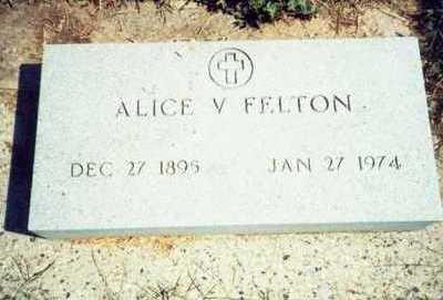 FELTON, ALICE V. - Pottawattamie County, Iowa | ALICE V. FELTON