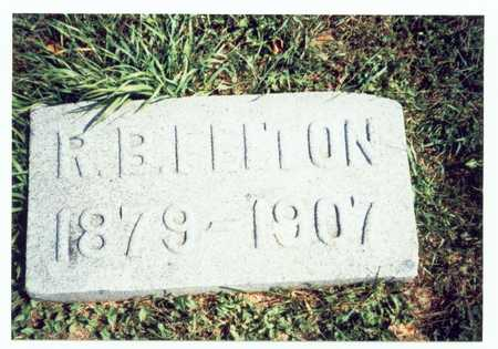 FELTON, R.B. - Pottawattamie County, Iowa | R.B. FELTON