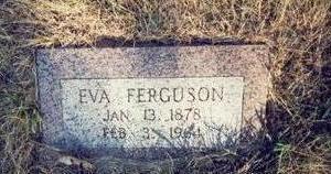 FERGUSON, EVA - Pottawattamie County, Iowa   EVA FERGUSON