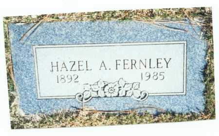 FERNLEY, HAZEL A. - Pottawattamie County, Iowa | HAZEL A. FERNLEY