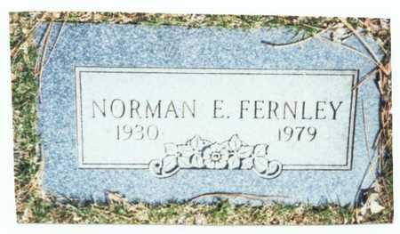 FERNLEY, NORMAN E. - Pottawattamie County, Iowa   NORMAN E. FERNLEY