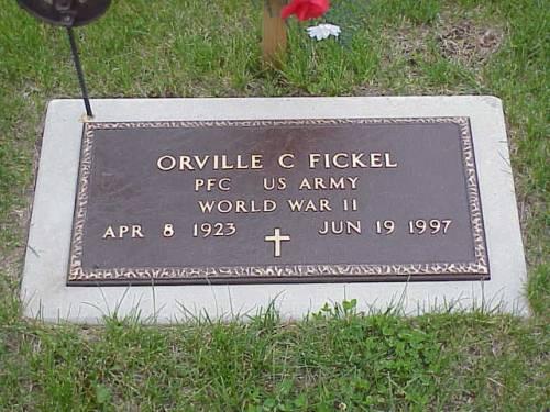 FICKEL, ORVILLE C. - Pottawattamie County, Iowa | ORVILLE C. FICKEL