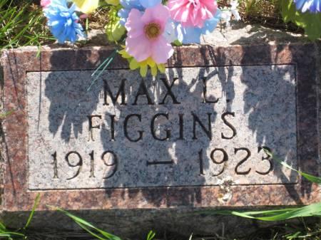 FIGGINS, MAX L. - Pottawattamie County, Iowa   MAX L. FIGGINS