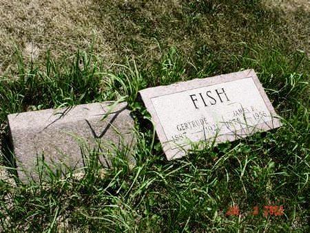 FISH, GERTRUDE - Pottawattamie County, Iowa | GERTRUDE FISH