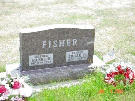 FISHER, HAZEL E. - Pottawattamie County, Iowa | HAZEL E. FISHER