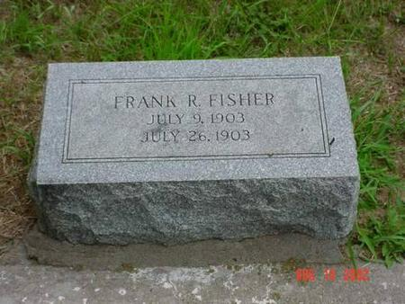 FISHER, FRANK R. - Pottawattamie County, Iowa | FRANK R. FISHER