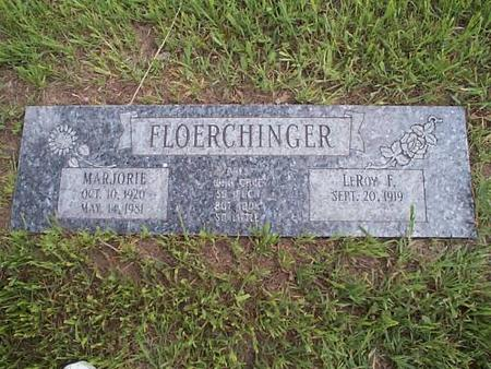 FLOERCHINGER, MARJORIE AND LEROY F. - Pottawattamie County, Iowa | MARJORIE AND LEROY F. FLOERCHINGER