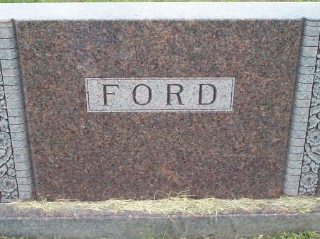 FORD, FAMILY STONE - Pottawattamie County, Iowa | FAMILY STONE FORD