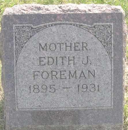 FOREMAN, EDITH J. - Pottawattamie County, Iowa | EDITH J. FOREMAN