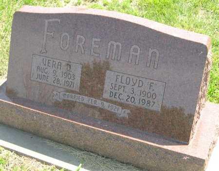 FOREMAN, FLOYD F. - Pottawattamie County, Iowa   FLOYD F. FOREMAN