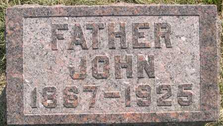 FOREMAN, JOHN - Pottawattamie County, Iowa | JOHN FOREMAN