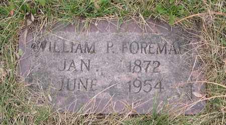 FOREMAN, WILLIAM P. - Pottawattamie County, Iowa | WILLIAM P. FOREMAN