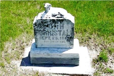 FORRISTALL, EDITH - Pottawattamie County, Iowa   EDITH FORRISTALL