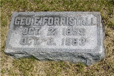 FORRISTALL, GEORGE - Pottawattamie County, Iowa | GEORGE FORRISTALL
