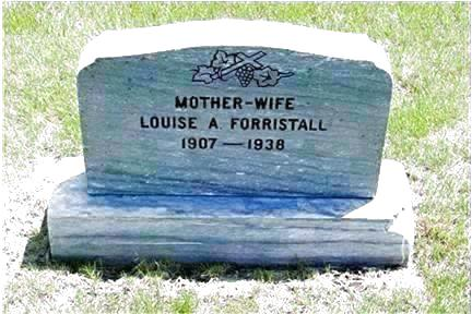 FORRISTALL, LOUISE A. - Pottawattamie County, Iowa   LOUISE A. FORRISTALL