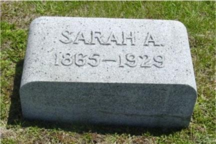 HARDING FORRISTALL, SARAH ANN - Pottawattamie County, Iowa | SARAH ANN HARDING FORRISTALL