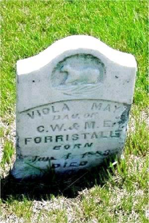 FORRISTALL, VIOLA MAY - Pottawattamie County, Iowa | VIOLA MAY FORRISTALL