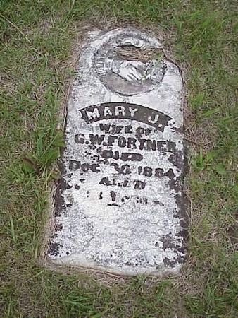 FORTNER, MARY J. - Pottawattamie County, Iowa | MARY J. FORTNER