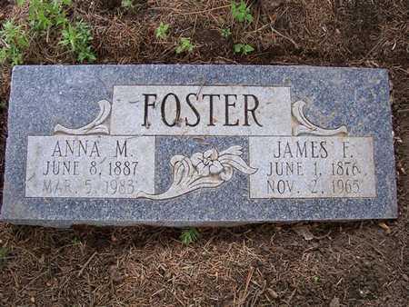 FOSTER, ANNA M. - Pottawattamie County, Iowa   ANNA M. FOSTER