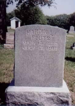 FOUTS, HARDIN L. - Pottawattamie County, Iowa | HARDIN L. FOUTS