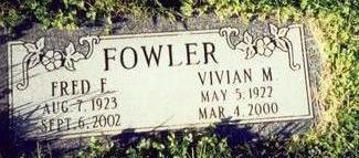 GILLMAN FOWLER, VIVIAN M. - Pottawattamie County, Iowa | VIVIAN M. GILLMAN FOWLER