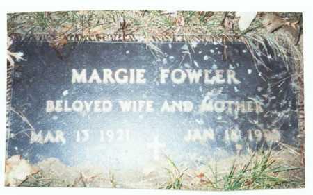 FOWLER, MARGIE - Pottawattamie County, Iowa | MARGIE FOWLER
