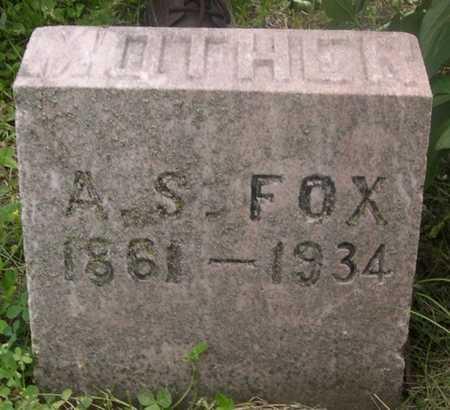 FOX, A .S. - Pottawattamie County, Iowa | A .S. FOX