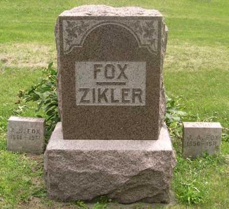 FOX, A.S. - Pottawattamie County, Iowa | A.S. FOX