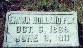 HOLLAND FOX, EMMA - Pottawattamie County, Iowa | EMMA HOLLAND FOX