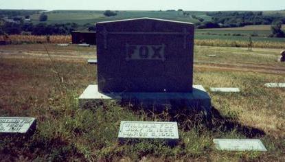 FOX, MARKER - Pottawattamie County, Iowa | MARKER FOX