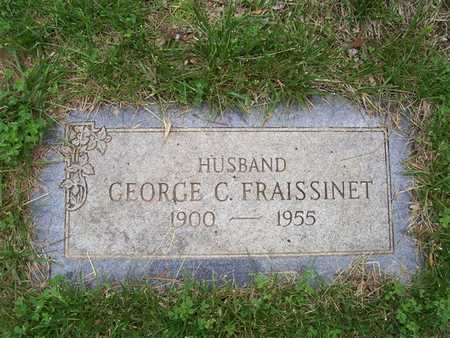 FRAISSINET, GEORGE C. - Pottawattamie County, Iowa | GEORGE C. FRAISSINET