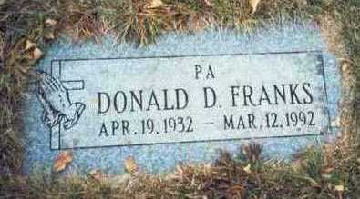 FRANKS, DONALD D. - Pottawattamie County, Iowa | DONALD D. FRANKS