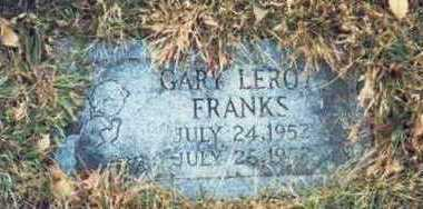 FRANKS, GARY LEROY - Pottawattamie County, Iowa | GARY LEROY FRANKS