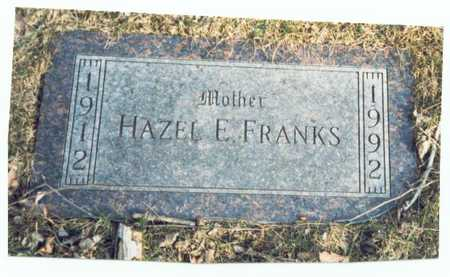 MILLER FRANKS, HAZEL EVELYN - Pottawattamie County, Iowa | HAZEL EVELYN MILLER FRANKS