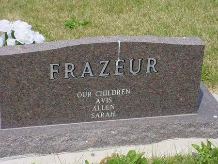 FRAZEUR, I. DARLYNE - Pottawattamie County, Iowa | I. DARLYNE FRAZEUR