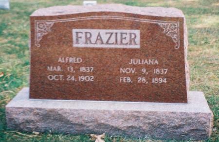 FRAZIER, JULIANNA - Pottawattamie County, Iowa | JULIANNA FRAZIER