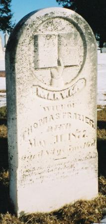 FRAZIER, MARY M - Pottawattamie County, Iowa | MARY M FRAZIER