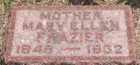 FRAZIER, MARY ELLEN - Pottawattamie County, Iowa   MARY ELLEN FRAZIER