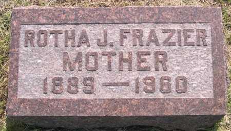 FRAZIER, ROTHA J. - Pottawattamie County, Iowa | ROTHA J. FRAZIER