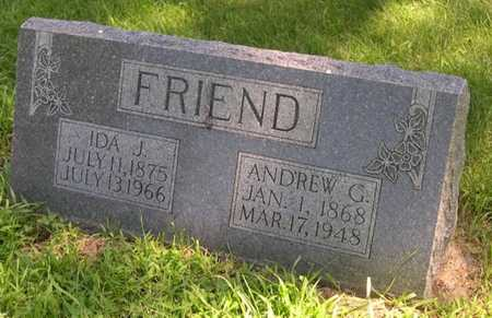 FRIEND, ANDREW G. - Pottawattamie County, Iowa | ANDREW G. FRIEND